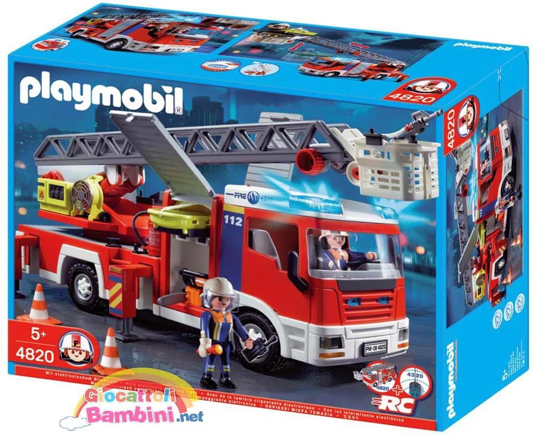 Camion pompieri pronto intervento 4820 playmobil - Playmobil camion ...