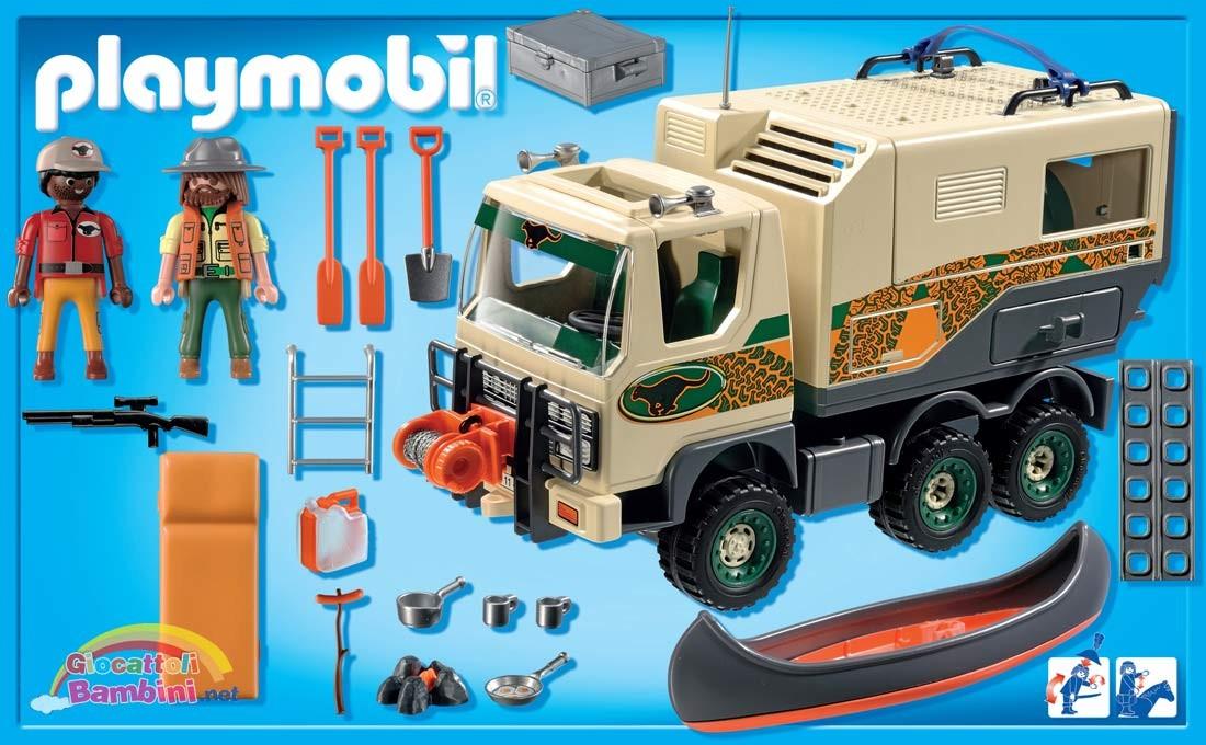 Camion avventura 4839 playmobil - Playmobil camion ...