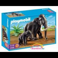 Mammut con Cucciolo