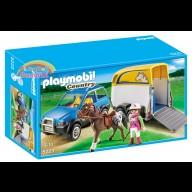 Suv con trasporto cavalli