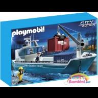 Nave Cargo con Gru di Carico